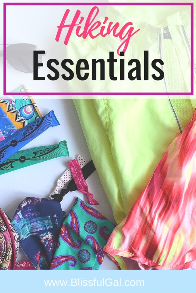 Hiking Essentials- Getting out an about while on your period only makes you feel better! I love going hiking and escaping reality, so I'm showing you some of my hiking essentials!