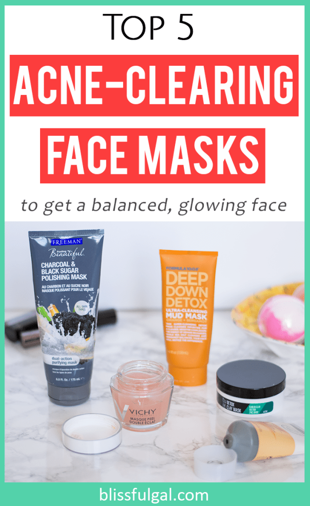 Face masks for acne prone skin / acne skincare treatment / acne face masks, acne skincare routine / acne hacks, skincare for oily skin / acne tips / how to get rid of acne