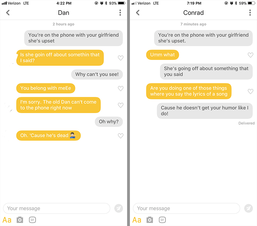 Opening lines for dating apps