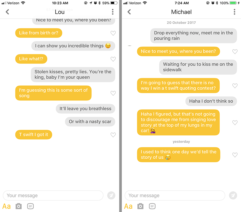 15 opening lines that will get a response on your dating apps