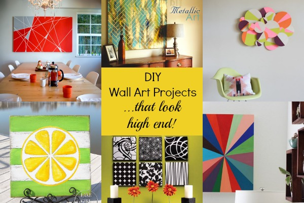 7 Gorgeous DIY Wall Art Projects That Look High End