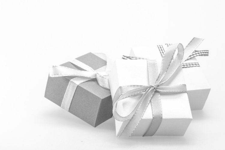 eGift Cards symbolized by the perfectly wrapped package