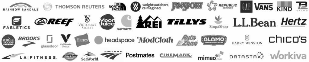 NEW Updated December 2019 Brands