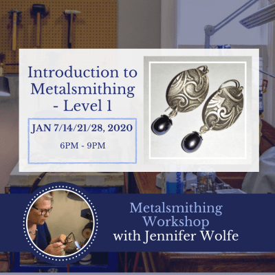 Introduction to Metalsmithing - Level 1