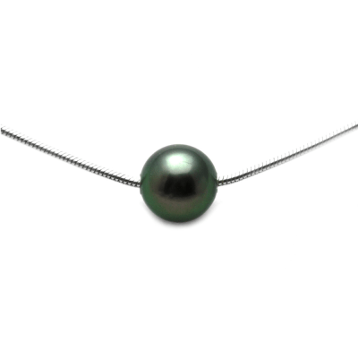 Floating Tahitian Pearl Necklace