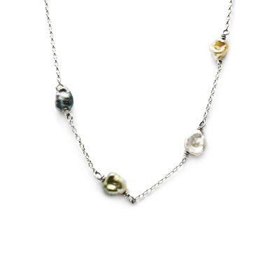 Fiji Keshi pearl necklace