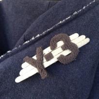 Y-3 Logo up close
