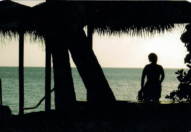 A calm day on Grand Cayman Island.