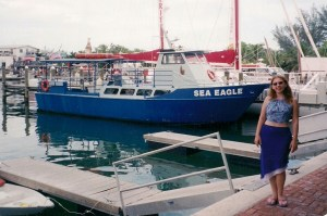 Me. And the boat.