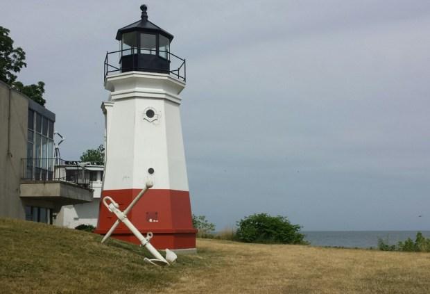 The 1877 Vermilion Lighthouse replica