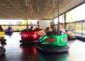 Cedar Point bumper cars