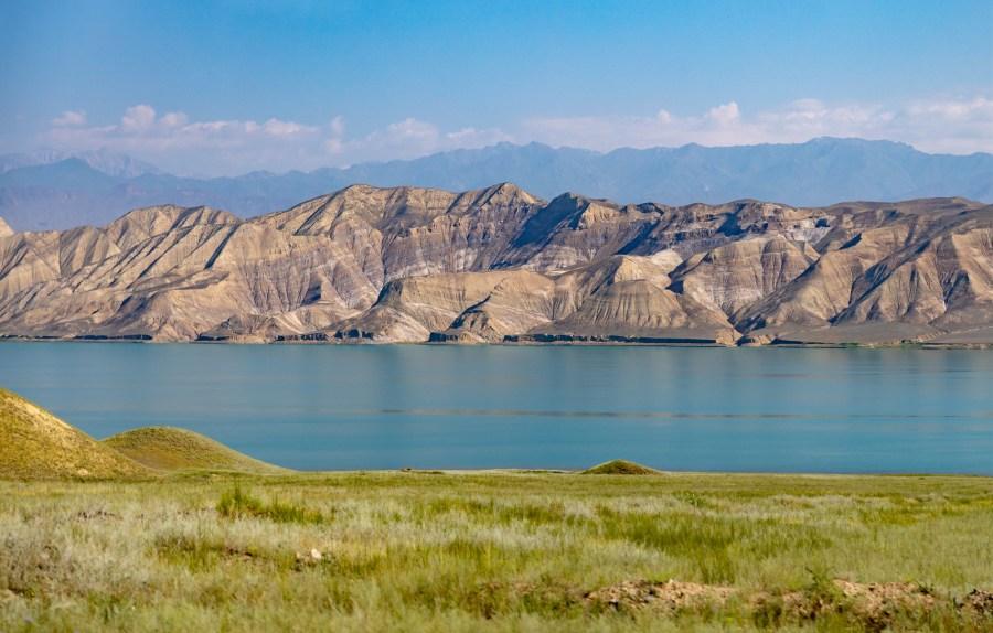 Toktogul Lake, Kyrgyzstan