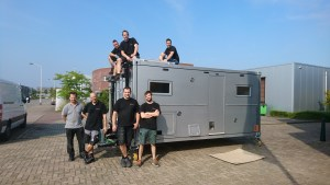 Bliss Mobil team who crafted our expedition camper unit.