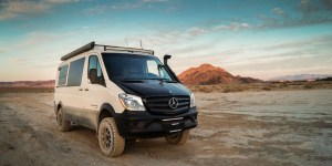 Sportsmobile Mercedes Sprinter 4x4.