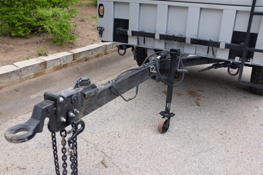 M1102 extended trailer tongue