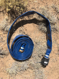 Collapsible hose no good for sewer dumping