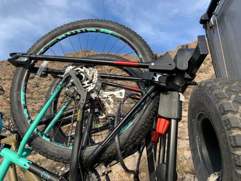 Yakima tire holder
