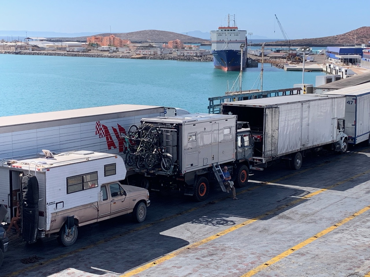 The La Paz to Mazatlan TMC Ferry: a step-by-step guide - Bliss Or Die
