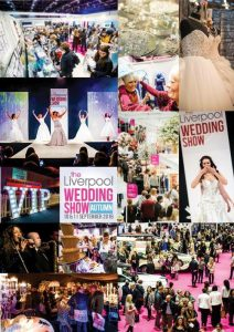 Collage of Images at The Liverpool Wedding Show