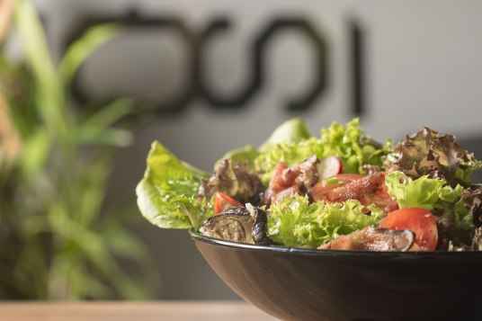 Overstand salad