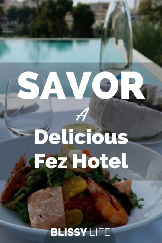 SAVOR A Delicious Fez Hotel