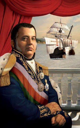 Dom João VI, fundador da PMDF.