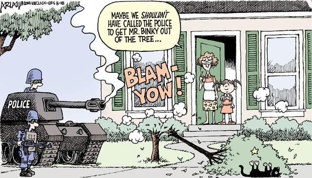 militarization joke