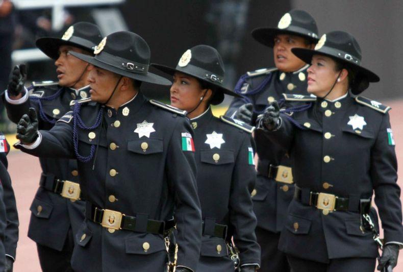 Gendarmeria mexicana ordem unida