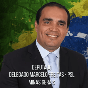 Deputado Delegado Marcelo Freitas – PSL – Delegado da Polícia Federal
