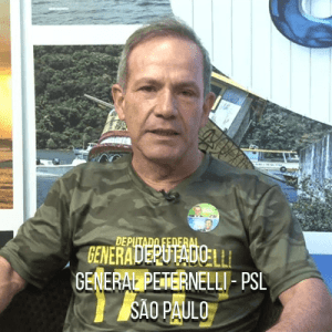 Deputado General Peternelli – PSL – General do Exército