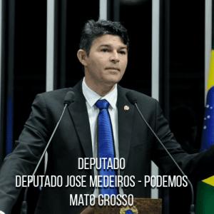 Deputado José Medeiros - PODEMOS – Polícia Rodoviária Federal