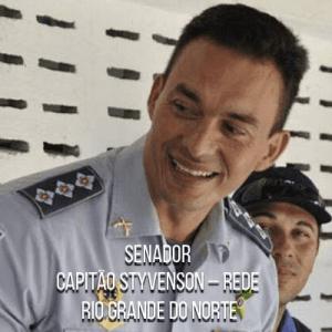 Senador Capitão Styvenson – Rede – Capitão da PMRN