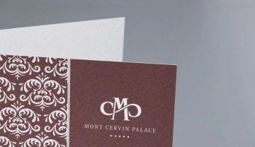 Mont Cervin Palace Umschlag im neuen CD by Werbeagentur Bern - Blitz & Donner