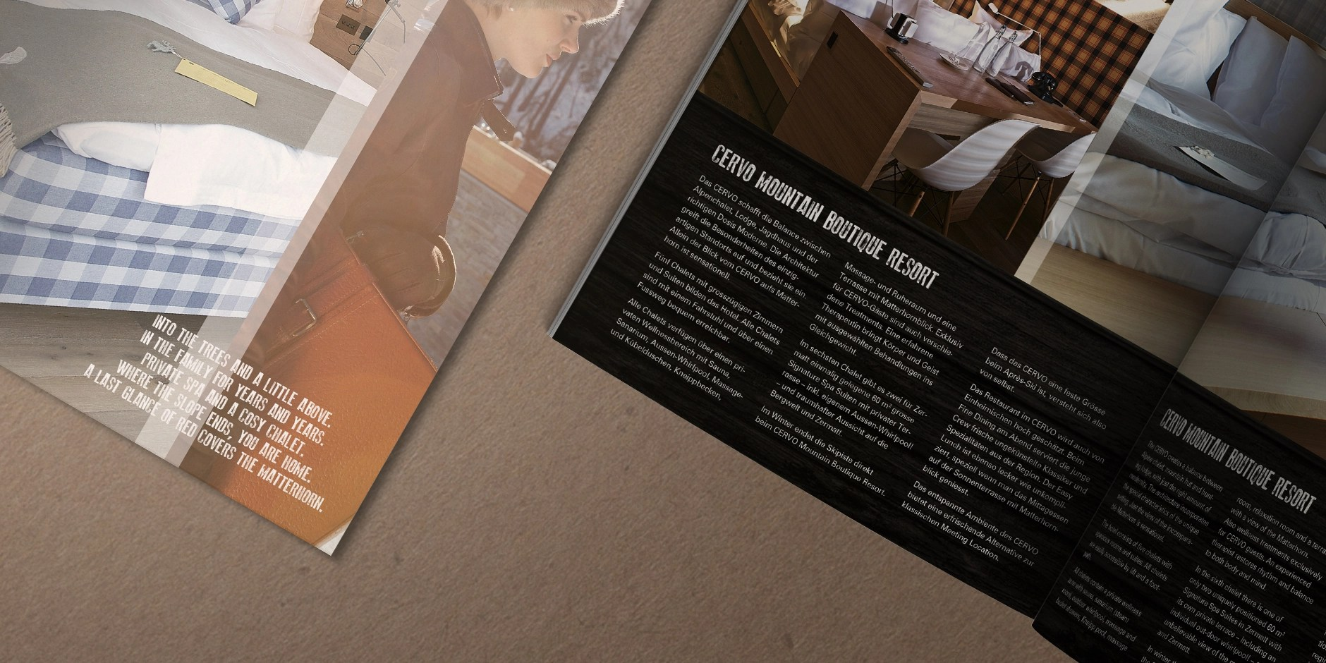 Factsheet 02 für Cervo Mountain Boutique Resort by Werbeagentur Bern - Blitz & Donner