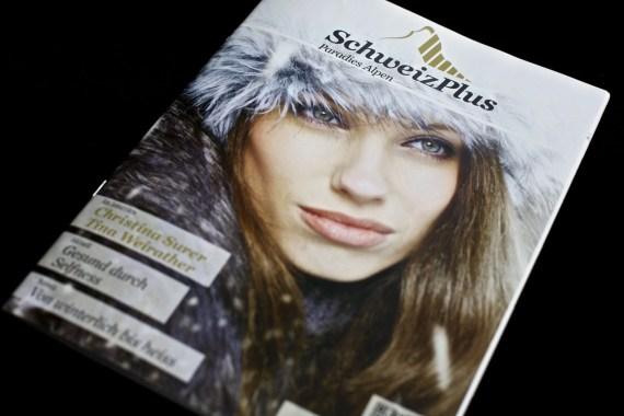 Titelbild Magazin SchweizPlus