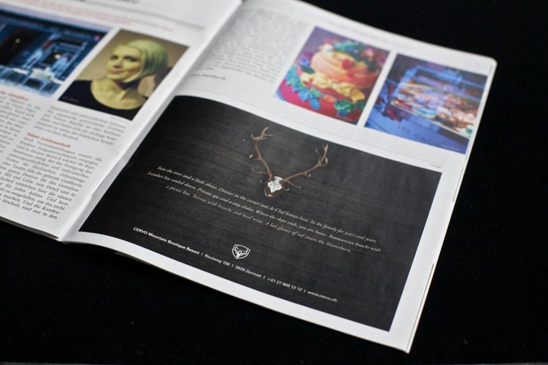 Inserat CERVO in Magazin SchweizPlus