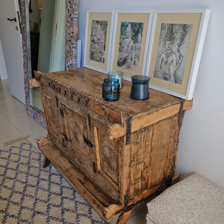 Indian Dowry Chest by Lucky Furniture