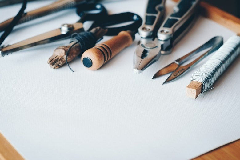 selection of tools for household repairs