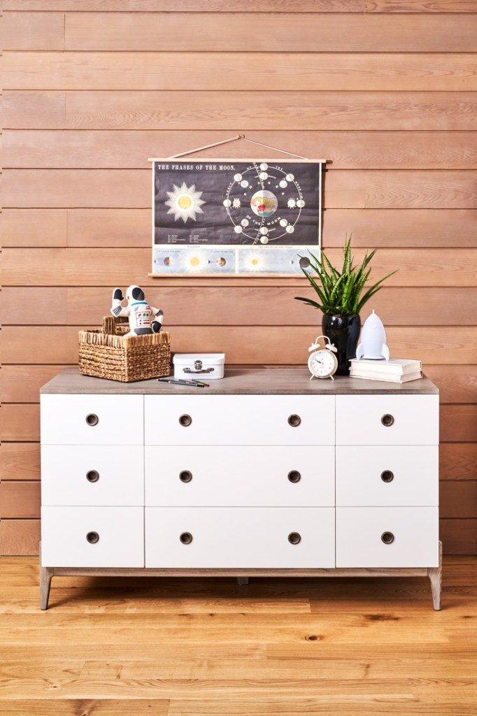 Crate and Kids white chest of drawers