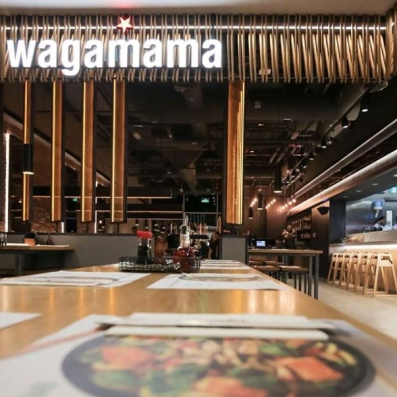 wagamama restaurant menu uae