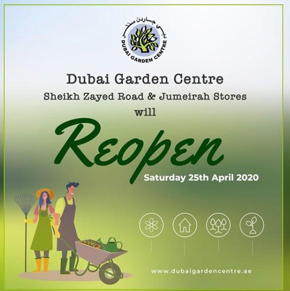 The Garden Centre Dubai to reopen