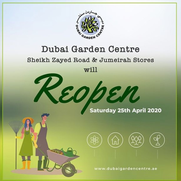 The Garden Centre Dubai to reopen