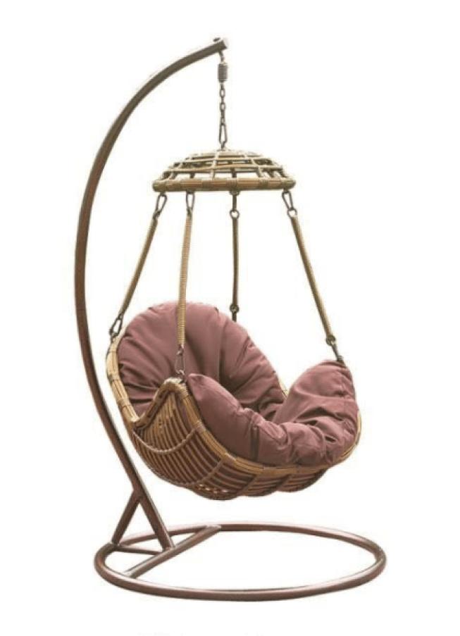 Boho egg chair