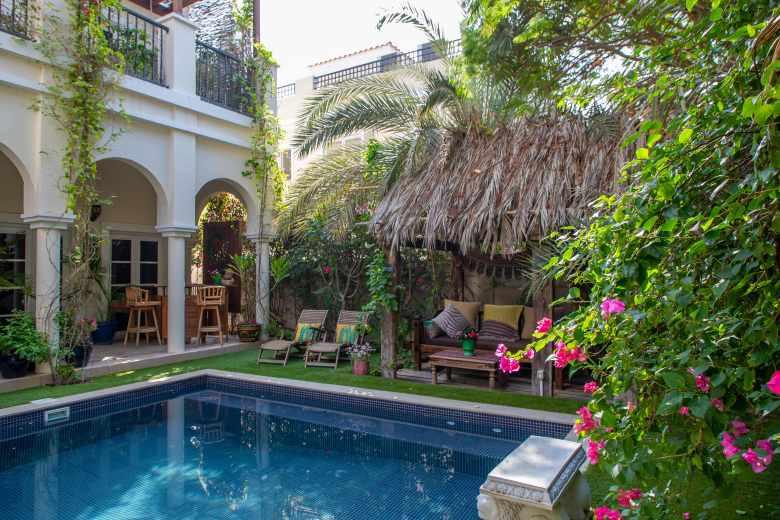 Garden in Dubai villa