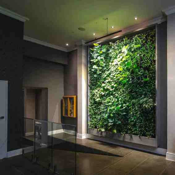 A large integrated green walll system