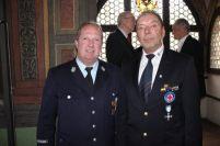 Josef Welzl von der Feuerwehr sowie Horst Happach von der Wasserwacht