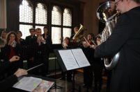 Für musikalische Unrahmung sorgte die Brass Band Regensburg