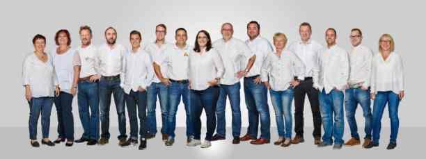 Kompetent, freundlich und bestens geschult. Das Keyser-Team freut sich seine Kunden beraten zu dürfen Foto: Der Raumausstatter Keyser