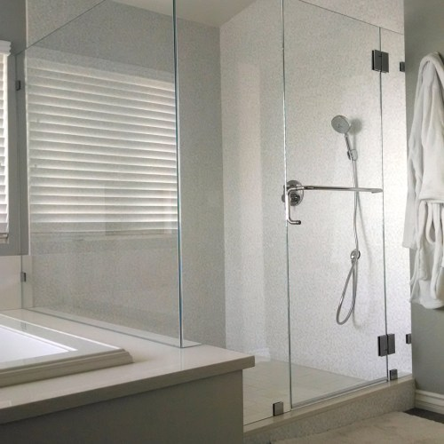 90 Degree Glass to Glass by Blizzard Frameless Showers