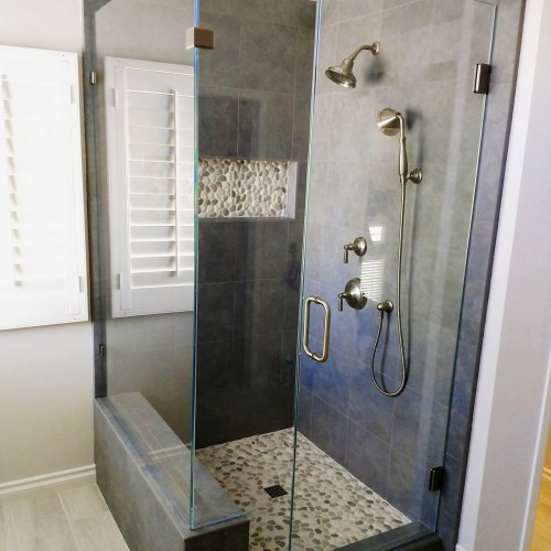 90 Degree Starphire by Blizzard Frameless Showers